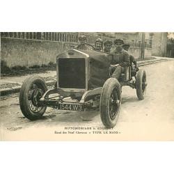 WW 87 BELLAC. Superbe Automobile Jousset Type Le Mans pour Essai des Neuf Chevaux 1926