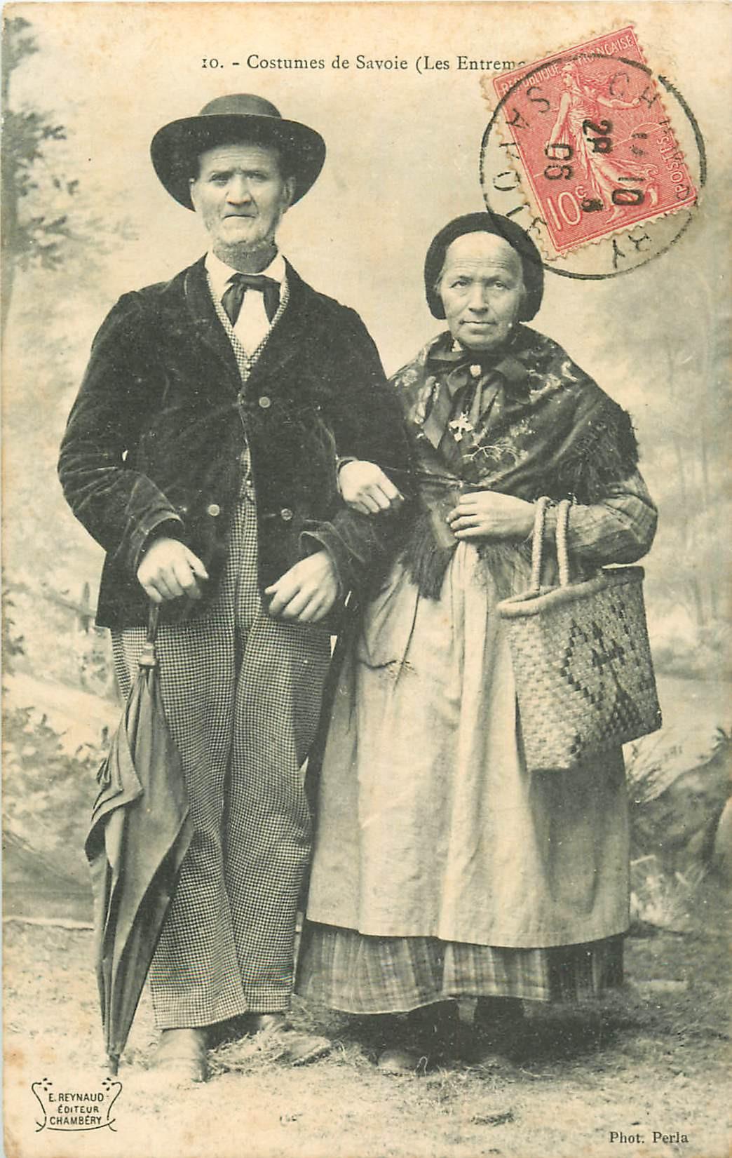 WW RHÔNE ALPES. Costumes de Savoie. Les Entremetteurs 1906