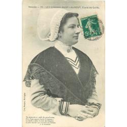 WW PAYS DE LOIRE. Etude de Coiffe Les Epesses-Saint-Laurent 1910