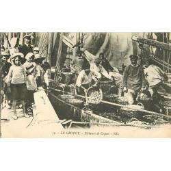 WW 80 LE CROTOY. Pêcheurs de Coques