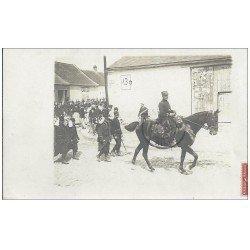 carte postale ancienne 02 SISSONNE. Carte Photo. Un Gradé Cavalier de la Légion Etrangère 1908