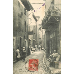 WW 07 VIVIERS. Débit de Tabac sur Grande Rue 1908