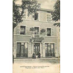 WW 39 LONGCHAUMOIS. Maison Jacquemin Négociant en pierre bijoux 18-20 Grande Rue 1920
