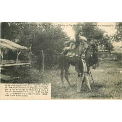 WW ALGERIE. Doussineau Globe-Trotter à la recherche d'un Dromadaire 1913