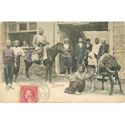 WW TURQUIE. Atelier d'un Maréchal Ferrant à Smyrne 1904
