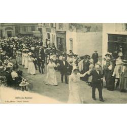 WW 79 LA MOTTE-SAINT-HERAY. Défilé d'un Mariage avec les Rosières Rosières 1911