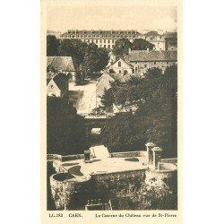 carte postale ancienne 14 CAEN. Top Promotion Caserne du Château