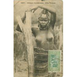 WW SENEGAL. Fille Foulah aux seins nus