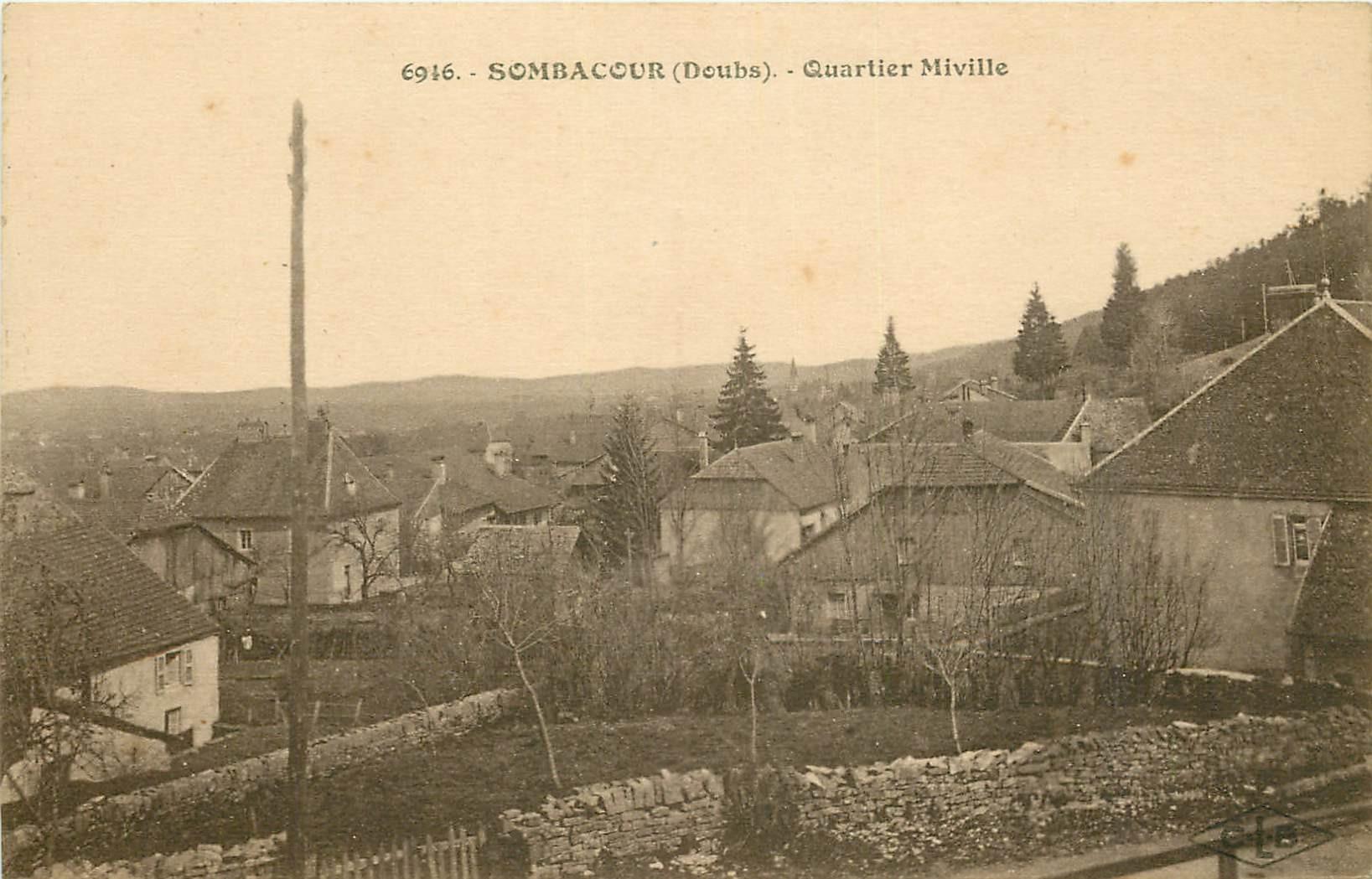 WW 25 SOMBACOUR. Quartier Miville