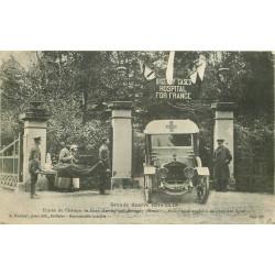 WW 55 REVIGNY. Ambulance anglaise à l'Entrée du Château du Faux Miroir 1916