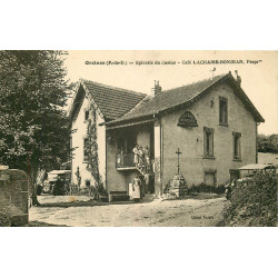 WW 63 ORCINES. Epicerie du Casino et Café Lachaise-Bonjean