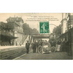 WW 92 MEUDON. Gare Val Fleury Délégations aux victimes Dirigeable République à Versailles 1909