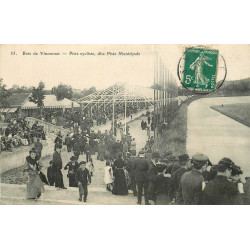 WW SPORTS Cyclisme. Au Bois de Vincennes (94) la Piste Municipale 1911