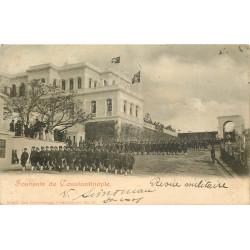 WW CONSTANTINOPLE. Une Revue militaire en Turquie 1901