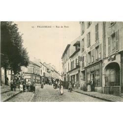 WW 91 PALAISSEAU. Hôtel des Nations et Epicerie Centrale rue de Paris 1919