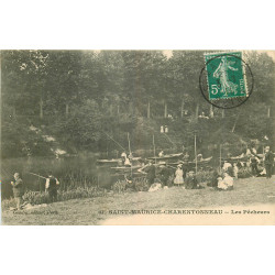 WW 94 SAINT-MAURICE-CHARENTONNEAU. Les Pêcheurs 1911