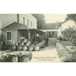 WW 69 VILLEFRANCHE SUR SAONE. Maison Paul Cotillon. Oenologues vins et tonneaux 1908