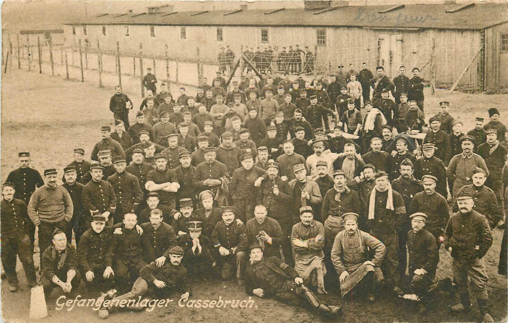 WW SOLTAU. Gefangehenlager Cassebruch 1916 Camp de Prisonniers de Guerre
