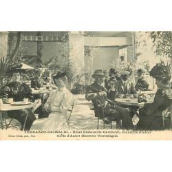 WW MENTONE VENTIMIGLIA. Terrazzo-Grimaldi Hôtel Ristorante Garibaldi Claudina