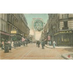 WW PARIS XIX. La rue de Flandre vers 1908