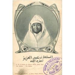 WW TANGER. Le Sultan du Maroc Muley Abdul Aziz 1903