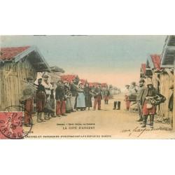 33 ARCACHON. Cabanes et Parqueurs d'Huîtres sur les bords de l'Océan 1906