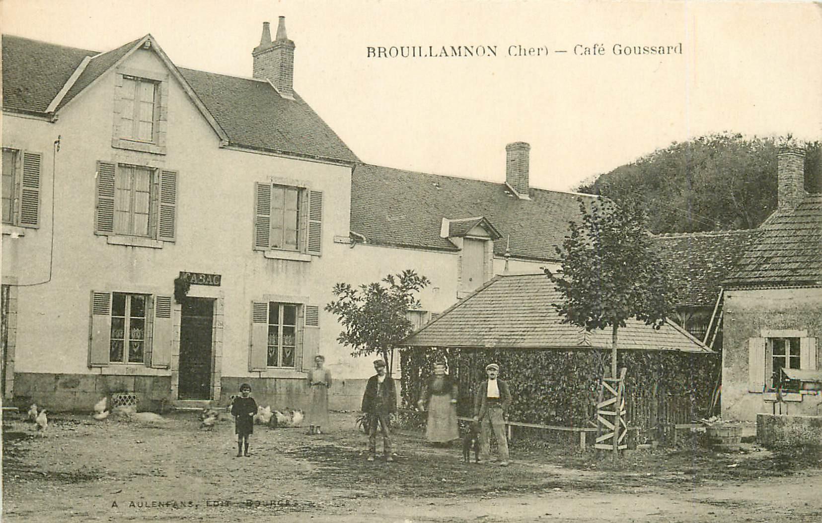 WW 18 BROUILLAMNON. Tabac Café Goussard