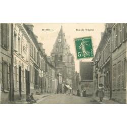 WW 80 MOREUIL. Buvette rue de l'Hôpital
