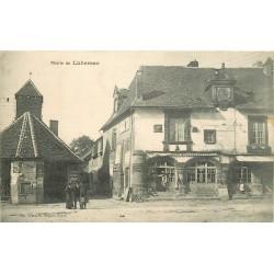 WW 19 LUBERSAC. La Mairie et magain de modes La Cocose 1911