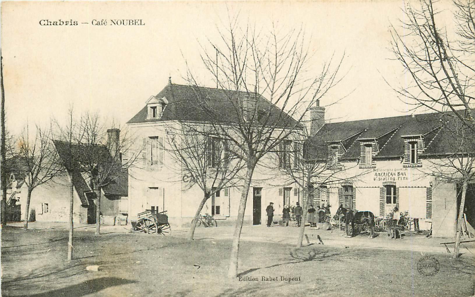 WW 36 CHABRIS. Café Noubel American Bar