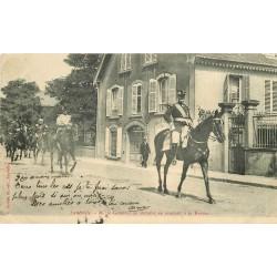 WW 54 LUNEVILLE. Le Général Benoist et la Cavalerie se rendant à la Revue 1904