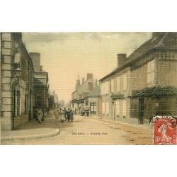 WW 41. SALBRIS. Grande Rue. Carte toilée 1916