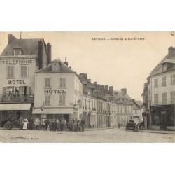 WW 60 BRETEUIL. Hôtel à l'Entrée de la Rue de Paris 1914