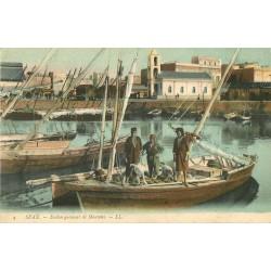 WW SFAX. Embarquement de Moutons sur barque en Tunisie