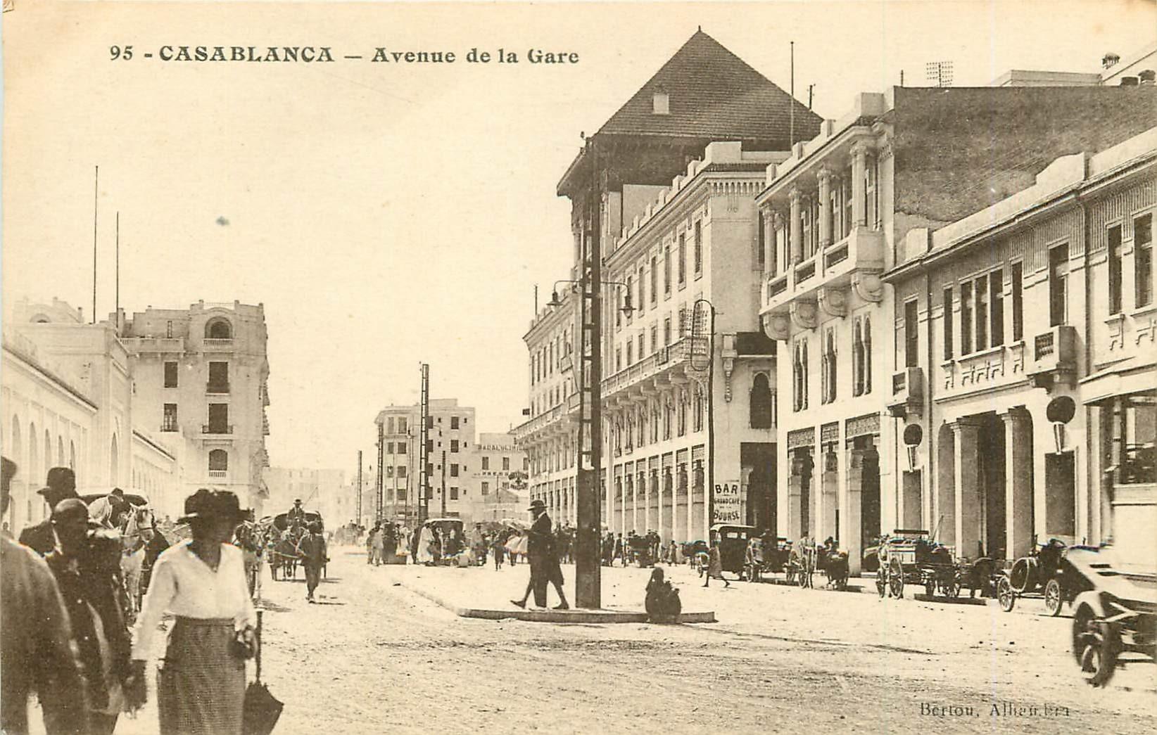 WW CASABLANCA. Avenue de la Gare