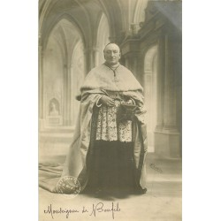 WW 72 LE MANS. Monseigneur de Bonfils. Photo carte postale ancienne 1909
