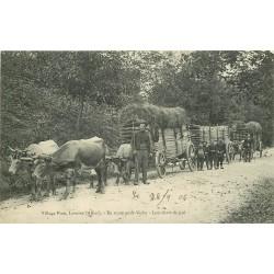 WW 03 VILLAGE PION LAVOINE. En Route pour Vichy lou chars de paô 1906