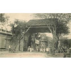 WW SAIGON. Procession de la Divinité des Chettys