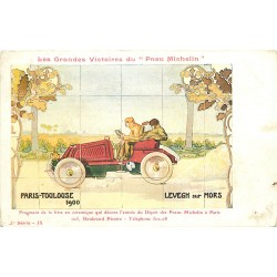 WW SPORT AUTOMOBILE. Pneu Michelin Paris Toulouse 1900 Levegh sur Mors