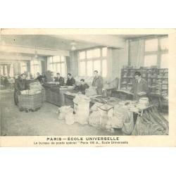 WW PARIS XVI. Ecole Universelle le Bureau de Poste spécial 59 Boulevard Exelmans