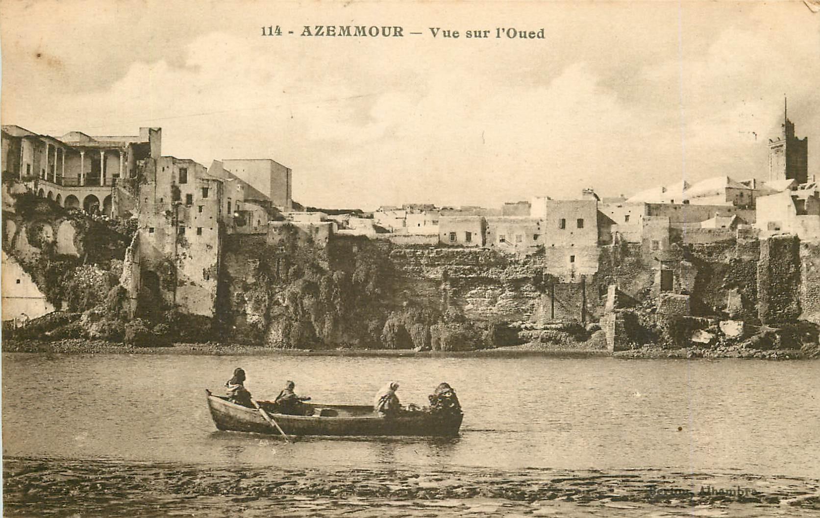 WW MAROC. Azemour avec vue sur l'Oued