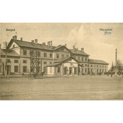 WW HONGRIE. Palyaudvar de Szeged 1919