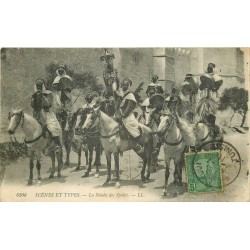 WW TUNISIE. La Nouba des Cavaliers Spahis 1911