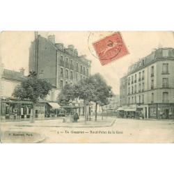 WW 92 LA GARENNE COLOMBES. Boulangerie sur Rond-Point de la Gare 1907