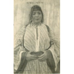 WW MAROC. Femme arabe type du Pays 1915