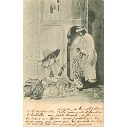 WW MAROC. La Toilette à Tanger 1909