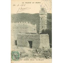 WW MAROC. La Mosquée à Debdou 1912