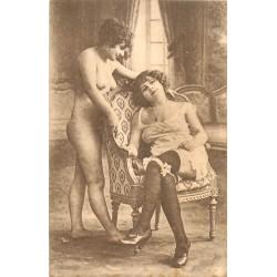 WW NUS D'AUTREFOIS. Deux superbes Femmes aux seins nus