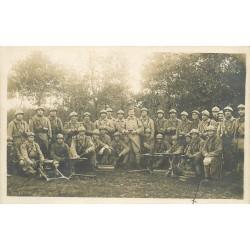 WW 78 BONNIERES-SUR-SEINE. Groupe de Soldats avec mitrailleuses 1915