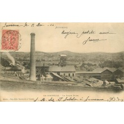 WW 63 LA COMBELLE. Le Grand Puits et la ventilation 1904